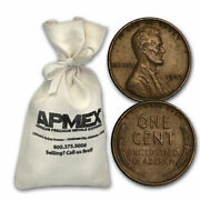 1930-1939 Wheat Cent 5000ct Bags All From The 1930s - Sku33109