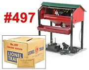 Lionel Pw 497 Coaling Station W/box /272/ 1953-1958