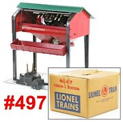 Lionel Pw 497 Coaling Station W/box /274/ 1953-58