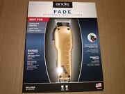 Andis Fade Hair Clipper With Adjustable Blade Gold Model Us-1 66245