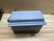 1926 1927 Model T Ford Coil Box W/ Lid And Mounting Brackets.