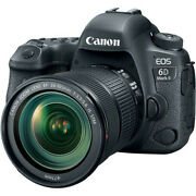 New Canon Eos 6d Mark Ii Dslr Camera With Ef24-105mm F3.5-5.6 Is Stm Lens