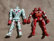 2 Lot Alliexpress Real Steel Ambush Twin Cities Light Up 5 Action Figures