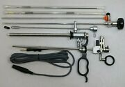 Monopolar Resectoscope Set Large, 24/26 Fr./charr. With Continuous Flow Turp Set