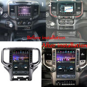 12.1 Vertical Android 9.0 Radio Stereo Unit For Ram 2018-19-2020 Carplay Camera