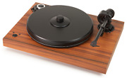 Pro-ject Xperience Sb Rosewood Veneer Incl. Cover And Ortofon 6 7/12ft Silver