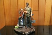 The Last Of Us Post Pandemic Edition Joel And Ellie Statue And Diorama