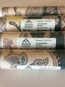 """4-vintage Home Wallpaper Border Roles Fashion Point 7""""wide 5 Yds Each Nos"""