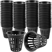 Keileoho 120 Pack 2 Inches Net Pots Upgraded Net Cup With 200 Pcs Plant Labels