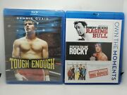 Tough Enough Oop Blu-ray New + Raging Bull/rocky/usual Suspects Like-new