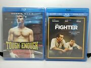 Tough Enough Oop Blu-ray New + The Fighter Blu-ray+dvd Like-new