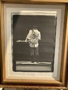 Stevie Ray Vaughan Lithograph Last Call 1986/2500 Signed By W.a. Williams