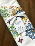 Williams Sonoma Embroidered Sicily 16 X 108 Table Runner