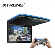 Xtrons 13.3 Car Roof Overhead Monitor Android 9.0 Ips Screen Hdmi Usb Wifi 4g