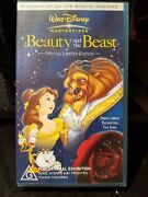 Disney Beauty And The Beast Vhs Tape Childrenand039s Video
