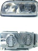 Headlight Assembly Left Uro Parts 9159412 Fits 93-97 Volvo 850