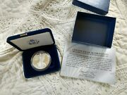 2007 Silver American Eagle One Ounce Proof Silver Eagle Case And Coa West Point