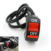 1000x Motorcycle Handlebar Mount Scooter Atv Dirt Bike Kill On-off Button Switch