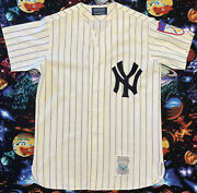 Rare Lands End Mitchell And Ness 1951 New York Yankees Mickey Mantle Jersey