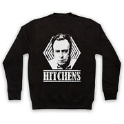 Christopher Hitchens Unofficial Atheist Author Tribute Adults Unisex Sweatshirt