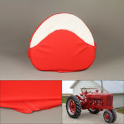 Tractor Seat Cushion Pan Seat Padded Fit For Farmall H M Series 300 450 Cub