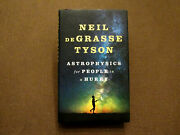Neil Degrasse Tyson Signed Auto 1st Ed Astrophysics For People In A Hurry Book