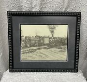 Texas Artist Wendell Williamson Railroad Limited Edition Signed And Numbered Print