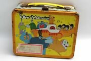 1968 King Features The Beatles Yellow Submarine Vintage Lunch Box No Thermos