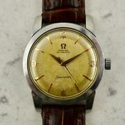 C.1954 Vintage Omega Seamaster Automatic Watch Ref. 2767-3 Cal. Andomega 354 In Steel