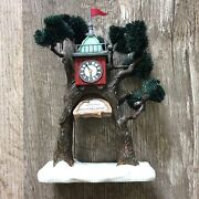 """Dept 56 North Pole Village 2000 """"welcome To North-woods"""" Gateway Entrance"""