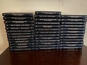Lot Of 38 Agatha Christie Mystery Collection Bantam Leatherette Books