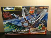 New Hot Wheels Speed Racer Fuji Helexicon Track Set Wild Water Mach 6 Race Car