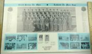 Lackland Air Force Base Squadron Group Large 11 X 18 Photo With Names 1971