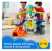 Fisher-price Little People Launch And Loop Raceway Vehicle Playset Brand New