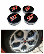 4pcs 54mm S And T Wheel Center Hub Caps Fit For S-t 6m21-1003 Blue Or Red