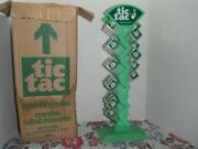 1970s Tic Tac Mints Store Display Original Box 31 Empty Containers Vintage Candy
