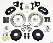 Wilwood Narrow Superlite 6r Front Hub Kit 14.00in 62-72 Cdp B And E Body-drum - Wi