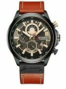 Curren Luxury Brand Men Analog Leather Sports Watches Menand039s Army Military Watch