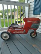 Vintage 1950's Murray Chain Drive Turbo Pedal Tractor