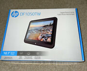 Hp 10.1 Lcd 8gb Wifi Digital Photo Frame, Support Sd Card, Built-in Speakers