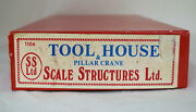 Ho Scale Structures Limited Kit K1106 Tool House And Pillar Crane