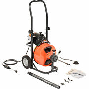 General Wire Mini-rooter Xp Drain/sewer Cleaning Machine W/ 75' X 1/2cable And 4