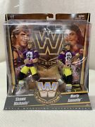 Wwe Legends The Rockers Mattel Elite 2-pack Shawn Michaels And Marty Jannetty Wwf