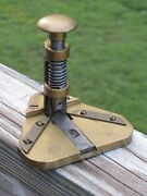 Vintage Antique Rare George Mason And Co. Brass Playing Card Corner Rounder Cutter