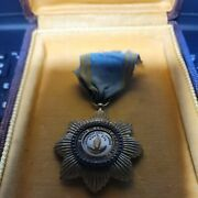 Order Of The Star Of Anjouan Real Thing -very Rare Medal -see Store Ww1-2 Medals