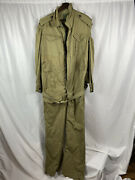 Original Wwii British Armor Tank Suit Jungle Coverall Dated 1945 Pixie