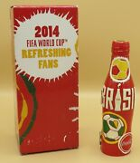 Coca-cola Hinged Bottle Fifa World Cup Brazil 2014 In Box Vhtf