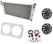 Champion Cooling Systems Cc2370k Radiator With Shroud And Fan Control Kit 1999-2