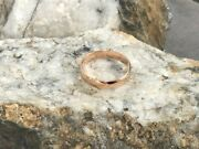 Official Welsh Clogau 18ct Rose Gold 5mm Windsor Wedding Ring Andpound400 Off Size Z