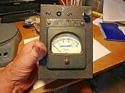 5d-simpson Microamperes Meter- Foot Candle - T-552 Ser. No 18
